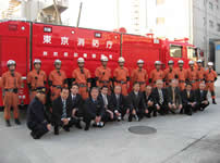 東京消防庁レスキュー隊 訓練風景