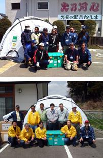 福島県被災者支援 国際RC第2530地区ガバナー訪問