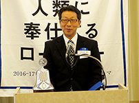 卓話:大崎警察署における犯罪抑止対策について