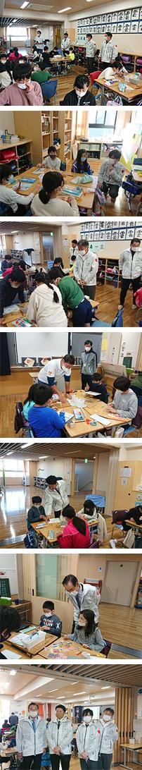 伝統工芸ふれあい教室「桐・木目込工芸品授業」